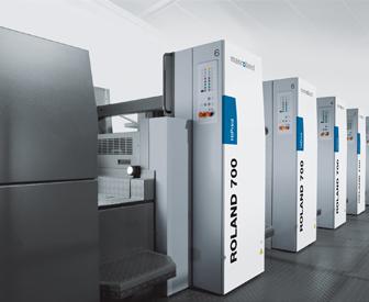 ManRoland 700, דפוס מסחרי, מכונות דפוס, הדפסת אופסט, דפוס אופסט, מדבקות לחולצות